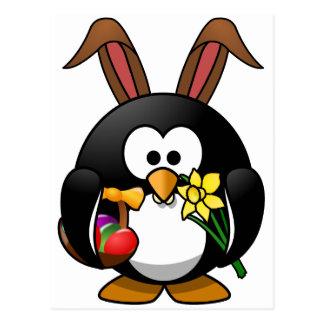 イースターペンギン ポストカード