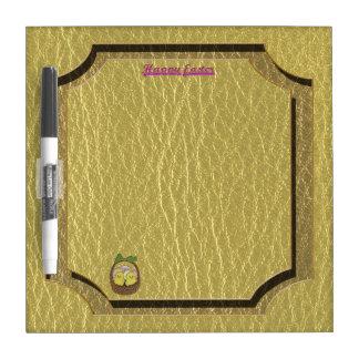 イースターレザールックのバスケット ホワイトボード