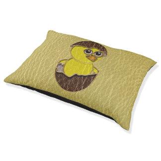イースターレザールックの鶏 ペットベッド
