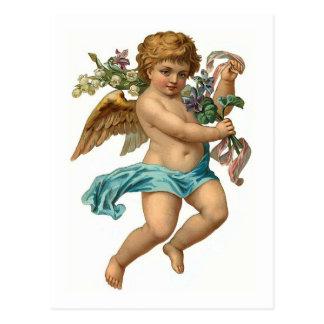 イースター天使のヴィンテージイースター ポストカード