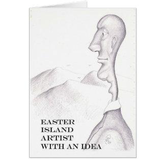 イースター島の芸術家 カード