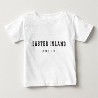 イースター島チリ ベビーTシャツ