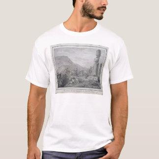 イースター島1786年の島民及び記念碑 Tシャツ