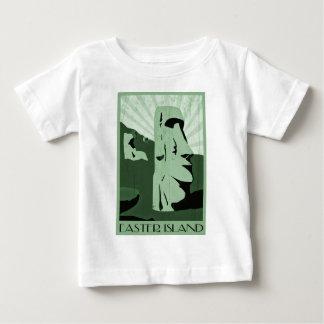 イースター島 ベビーTシャツ