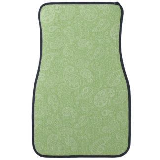 イースター緑のレトロのペイズリー カーマット