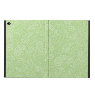 イースター緑のレトロのペイズリー POWIS iPad AIR 2 ケース