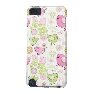 イースター花のひよこ iPod TOUCH 5G ケース
