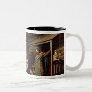 イースター行列1861年 ツートーンマグカップ