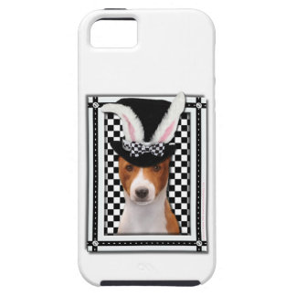 イースター-バニー愛します- Basenji iPhone SE/5/5s ケース