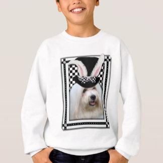 イースター-バニー愛します- Coton de Tulear スウェットシャツ