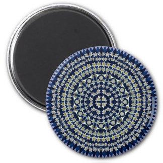 イースター・リリーの曼荼羅の磁石 マグネット