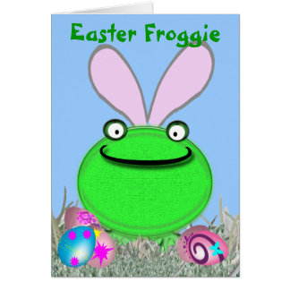 イースターFroggie カード