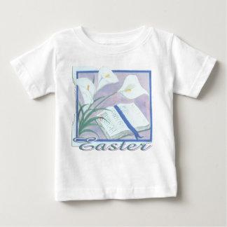 イースターLilly ベビーTシャツ