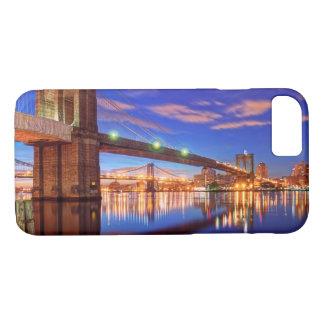 イースト・リバーのブルックリン橋、マンハッタン iPhone 8/7ケース