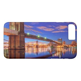 イースト・リバーのブルックリン橋、マンハッタン iPhone 8 PLUS/7 PLUSケース
