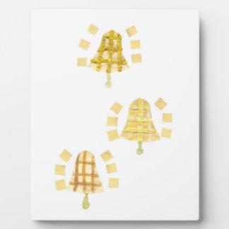 イーゼルの木鐘 フォトプラーク