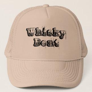 ウィスキーによって曲げられるベージュ帽子 キャップ