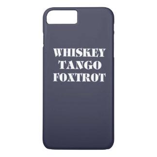 ウィスキーのタンゴはフォックストロットを踊ります iPhone 8 PLUS/7 PLUSケース