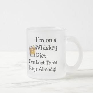 ウィスキーのダイエット フロストグラスマグカップ