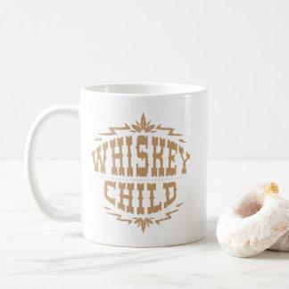 ウィスキーの児童のコーヒー・マグw/Fallの収穫のロゴ コーヒーマグカップ