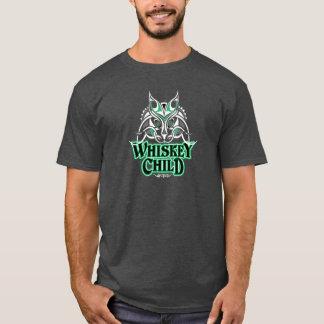 ウィスキーの児童の木炭ヒースのTシャツ Tシャツ