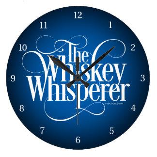 ウィスキーの囁くもの ラージ壁時計