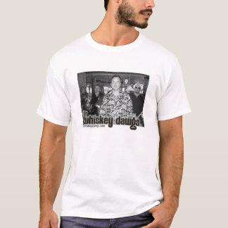 ウィスキーのDawgの公式の写真 Tシャツ