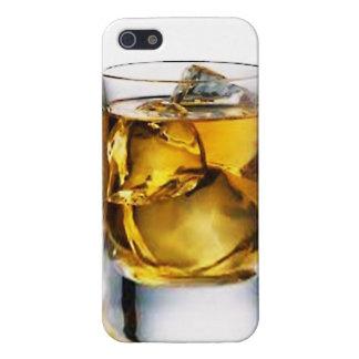 ウィスキーIPhoneのガラス5つのケース iPhone 5 Case