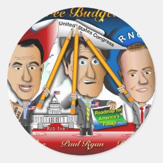 ウィスコンシンからの3 Budgeteers ラウンドシール
