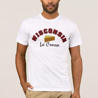 ウィスコンシンのチーズ町のおもしろいな名前入り Tシャツ