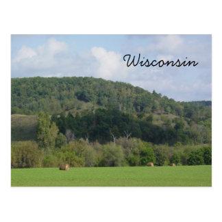 ウィスコンシンの丘 ポストカード