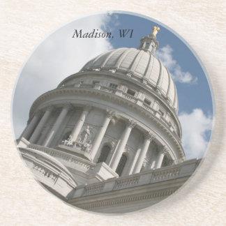 ウィスコンシンの国会議事堂のコースター コースター