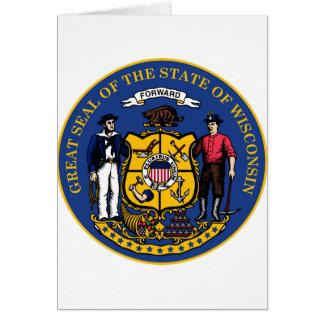 ウィスコンシンの国家seal.jpg カード