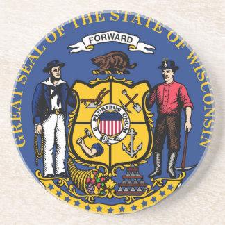 ウィスコンシンの国家seal.jpg コースター