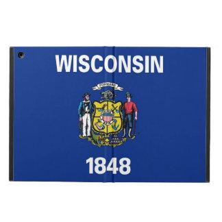 ウィスコンシンの旗との愛国心が強いipadの場合 iPad airケース