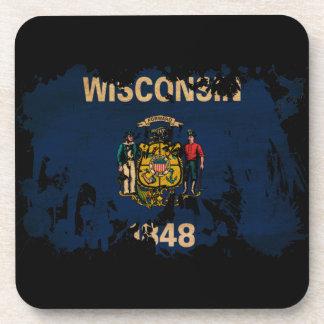 ウィスコンシンの旗 コースター