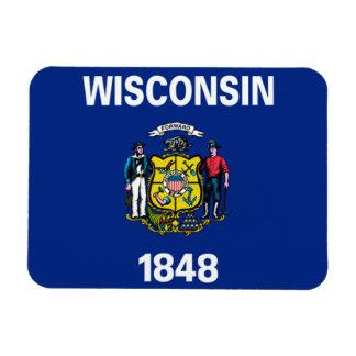 ウィスコンシンの旗 マグネット
