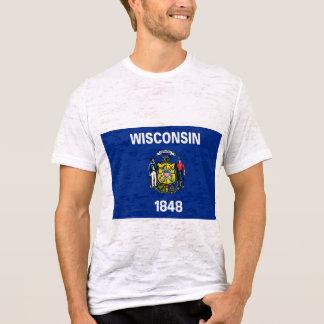 ウィスコンシンの旗 Tシャツ