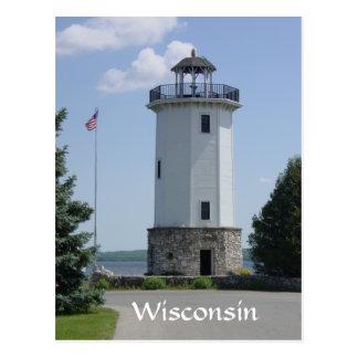 ウィスコンシンの灯台 ポストカード