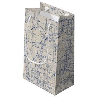 ウィスコンシンの自転車の道路図2 スモールペーパーバッグ