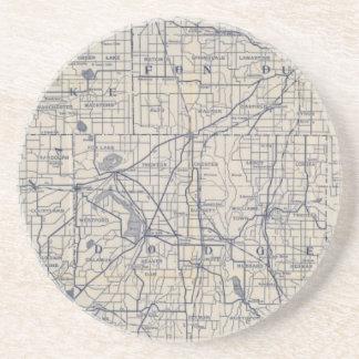 ウィスコンシンの自転車の道路図4 コースター