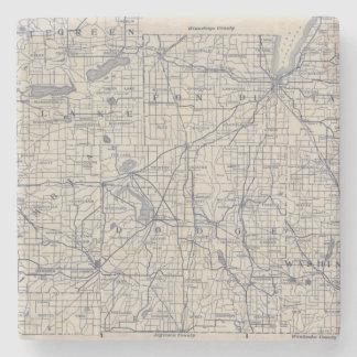 ウィスコンシンの自転車の道路図4 ストーンコースター