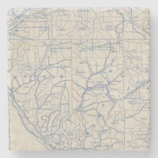ウィスコンシンの自転車の道路図6 ストーンコースター