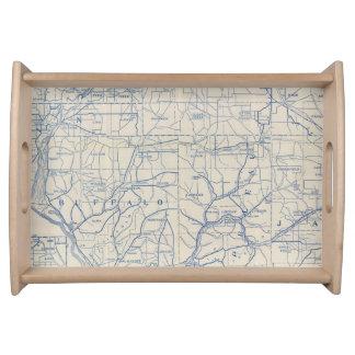 ウィスコンシンの自転車の道路図6 トレー