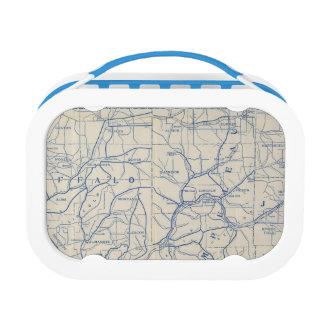 ウィスコンシンの自転車の道路図6 ランチボックス