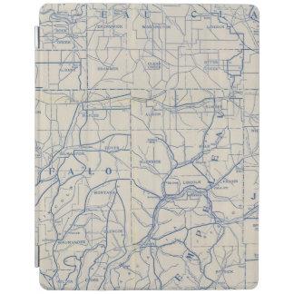 ウィスコンシンの自転車の道路図6 iPadスマートカバー