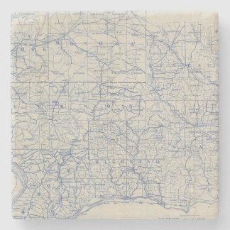 ウィスコンシンの自転車の道路図 ストーンコースター