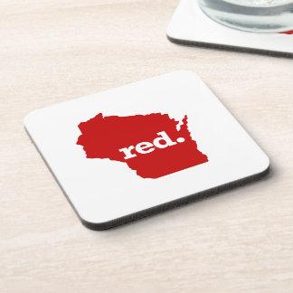 ウィスコンシンの赤い州 コースター