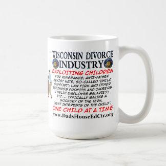ウィスコンシンの離婚の企業 コーヒーマグカップ