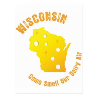 ウィスコンシンは臭いを私達の酪農場の空気来ます ポストカード